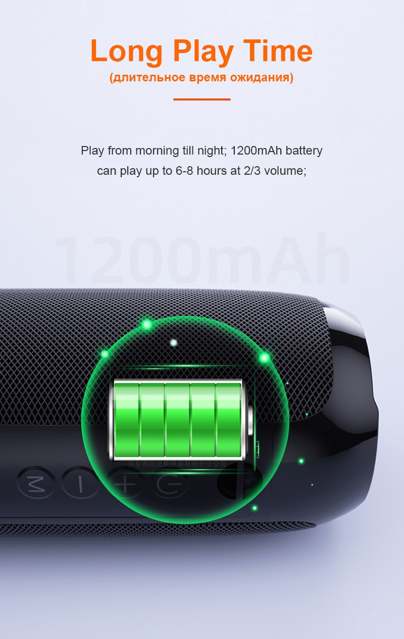 H6c4da42ac19f44a9b71b2faabe40e5f55 - Portable Bluetooth Speaker Wireless Bass Subwoofer Waterproof Outdoor Speakers Boombox AUX TF USB Stereo Loudspeaker Music Box