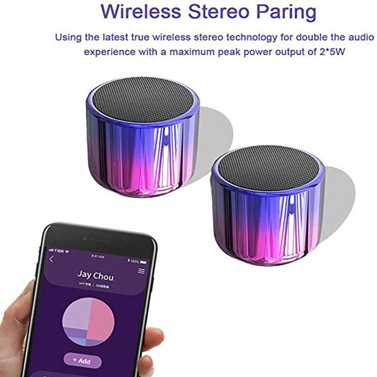 H78a19d3a74e142fcb1d911142a285ffa3 - TWS Bluetooth Speaker 5.0 Dosmix Wireless Pocket Stereo Speakers with 5W Big Sound 2-Hr Playtime,Android iOS Speakers for iPhone