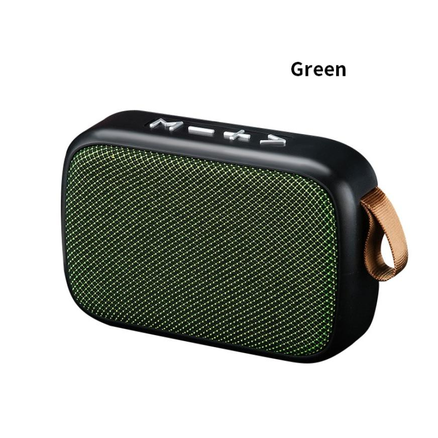 H790767542a0b46d9bb223dee6af01eac7 - G2 New Wireless Fabric Bluetooth Speaker Small Portable Cannon Mini Voice Broadcast The Card Instert Vehicular Audio System