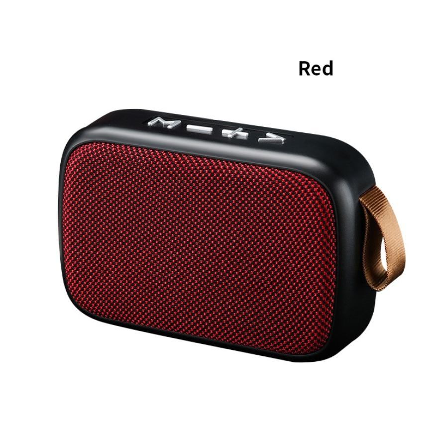H7942758ffc084263b19595bc083a1607A - G2 New Wireless Fabric Bluetooth Speaker Small Portable Cannon Mini Voice Broadcast The Card Instert Vehicular Audio System