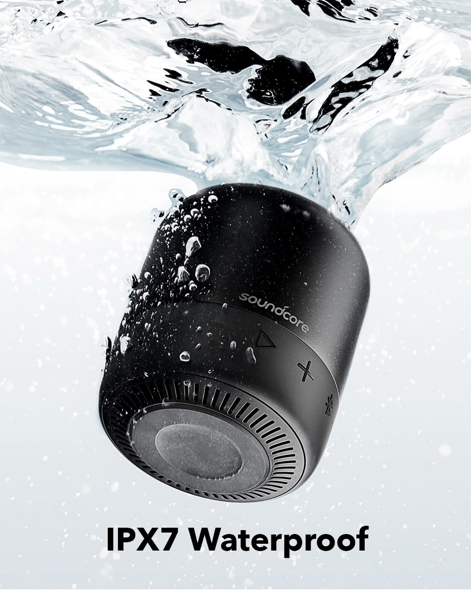 H7ac804acfb834c2eb2377df7e924ec6bo - Anker Soundcore Mini 2 Pocket Bluetooth IPX7 Waterproof Outdoor Speaker Powerful Sound with Enhanced Bass 15H Playtime