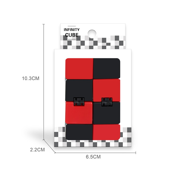 H81f3bd860386461891111985d3f12527O - Antistress Infinite Cube Infinity Cube Office Flip Cubic Puzzle Stress Reliever Autism Toys Relax Toy For Adults