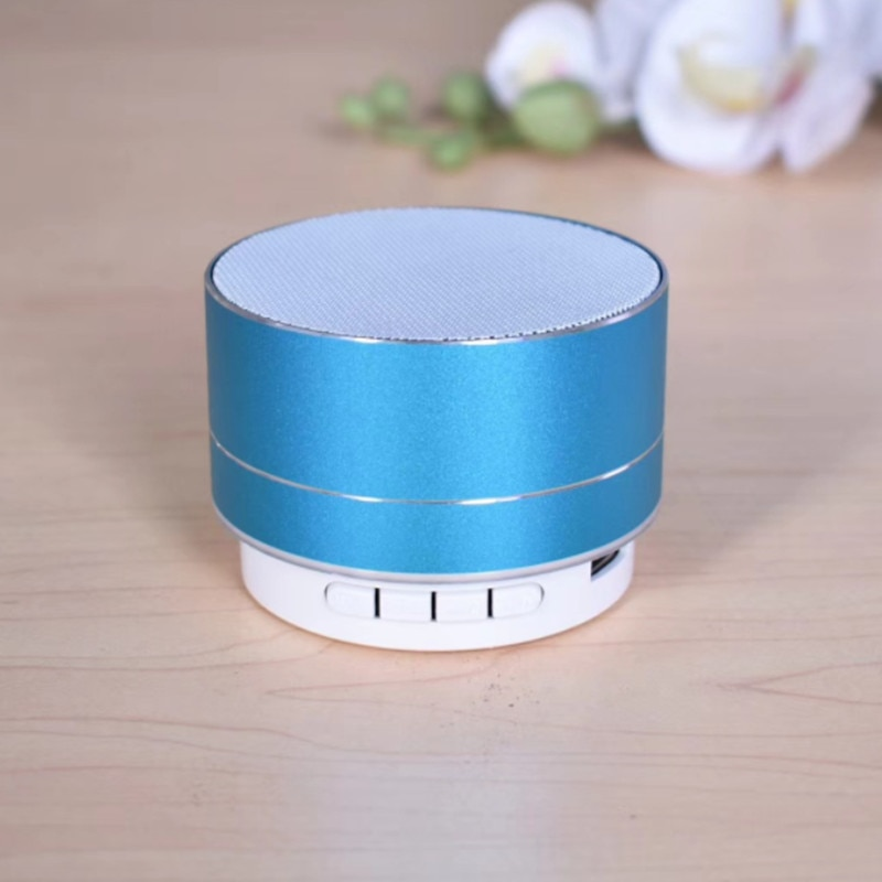 H890967a4bcbb4b28a5204c13bb922552v - A10 Wireless Bluetooth Audio Small Steel Cannon Subwoofer Mini Portable Gift Card Bluetooth Speaker