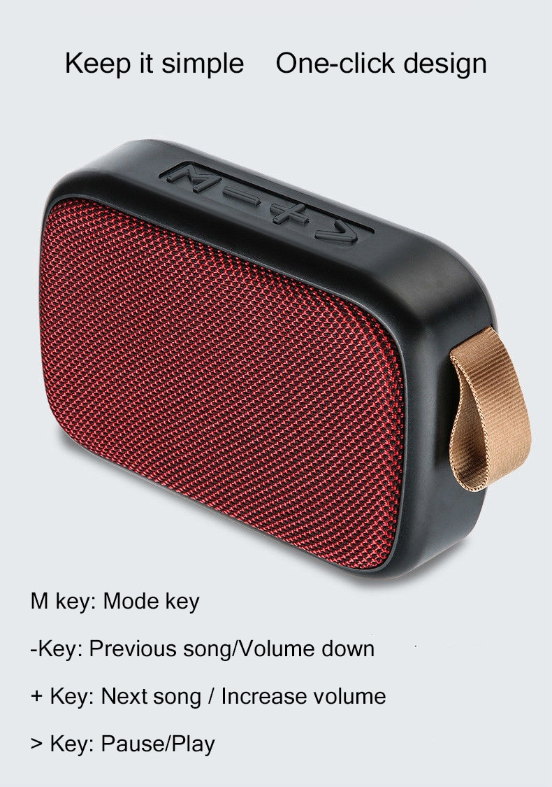 H8c1a44c2e1764a289500ad606c34af12d - B02 Wireless Bluetooth Speaker Mini Subwoofer Support TF Card Small Radio Player Outdoor Portable Sports Audio Support 16GB