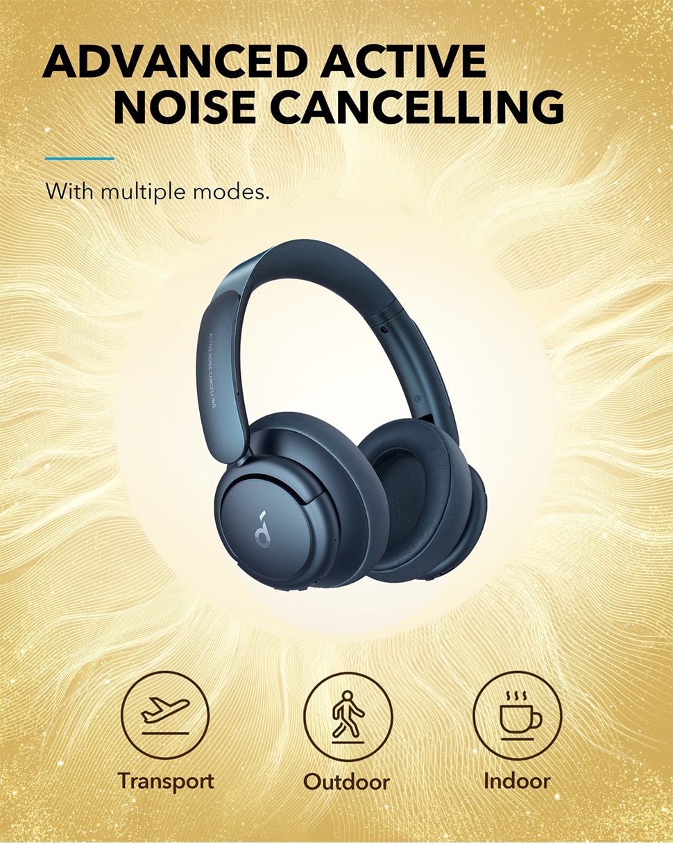 H8e001379970e40d6a21f6c38238fbb79S - Soundcore by Anker Life Q35 Multi Mode Active Noise Cancelling Headphones,40H Playtime, Comfortable Fit, Clear Calls