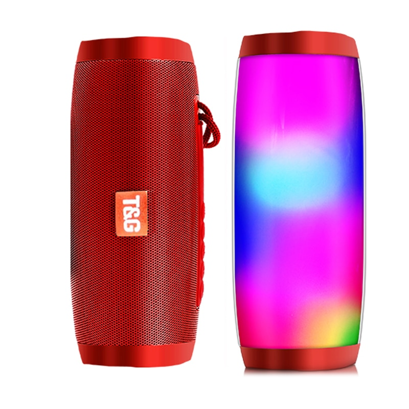 H8e4dca7f6dd44b84aaa241a0dccdf20bz - Wireless Speaker Bluetooth-compatible Speaker Microlab Portable Speaker Powerful High Outdoor Bass TF FM Radio with LED Light