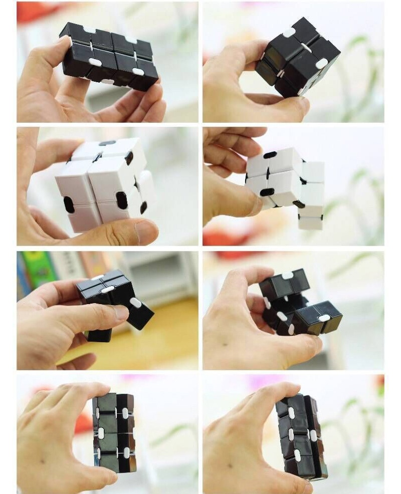 H951c6c554f3d4cee9c847bdeef23b5c4t - Antistress Infinite Cube Infinity Cube Office Flip Cubic Puzzle Stress Reliever Autism Toys Relax Toy For Adults