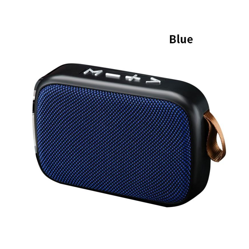 H99d87ff149354f78857b044fa1c334e5b - G2 New Wireless Fabric Bluetooth Speaker Small Portable Cannon Mini Voice Broadcast The Card Instert Vehicular Audio System