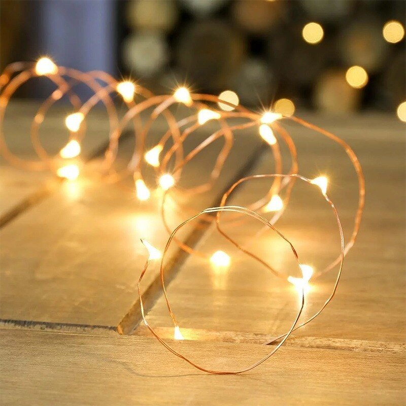 H9e94fb5317574e788fc7f99e3a2893ede - 2/5/10/20M USB LED String Lights Copper Silver Wire Garland Light Waterproof Fairy Lights For Christmas Wedding Party Decoration