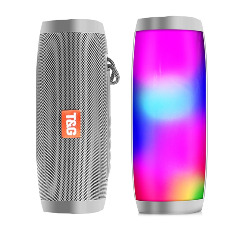 HTB1KatcewaH3KVjSZFjq6AFWpXao - Wireless Speaker Bluetooth-compatible Speaker Microlab Portable Speaker Powerful High Outdoor Bass TF FM Radio with LED Light