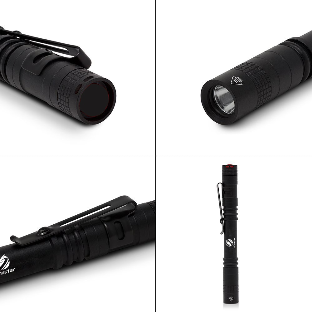 HTB1ovunACBYBeNjy0Feq6znmFXaC - Pen Light Mini Portable LED Flashlight 1000 lumens 1 Switch Mode led flashlight For the dentist and for Camping Hiking Out