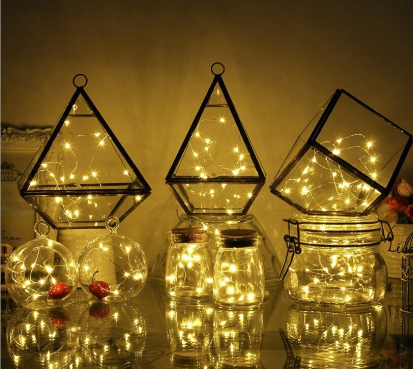 Habb940a3ce6a46958b4b9be30f4c0166Y - Led String Lights 3AA Battery Box Copper Wire Lights Christmas Decoration Dormitory Bedroom String Lights Christmas Decorations