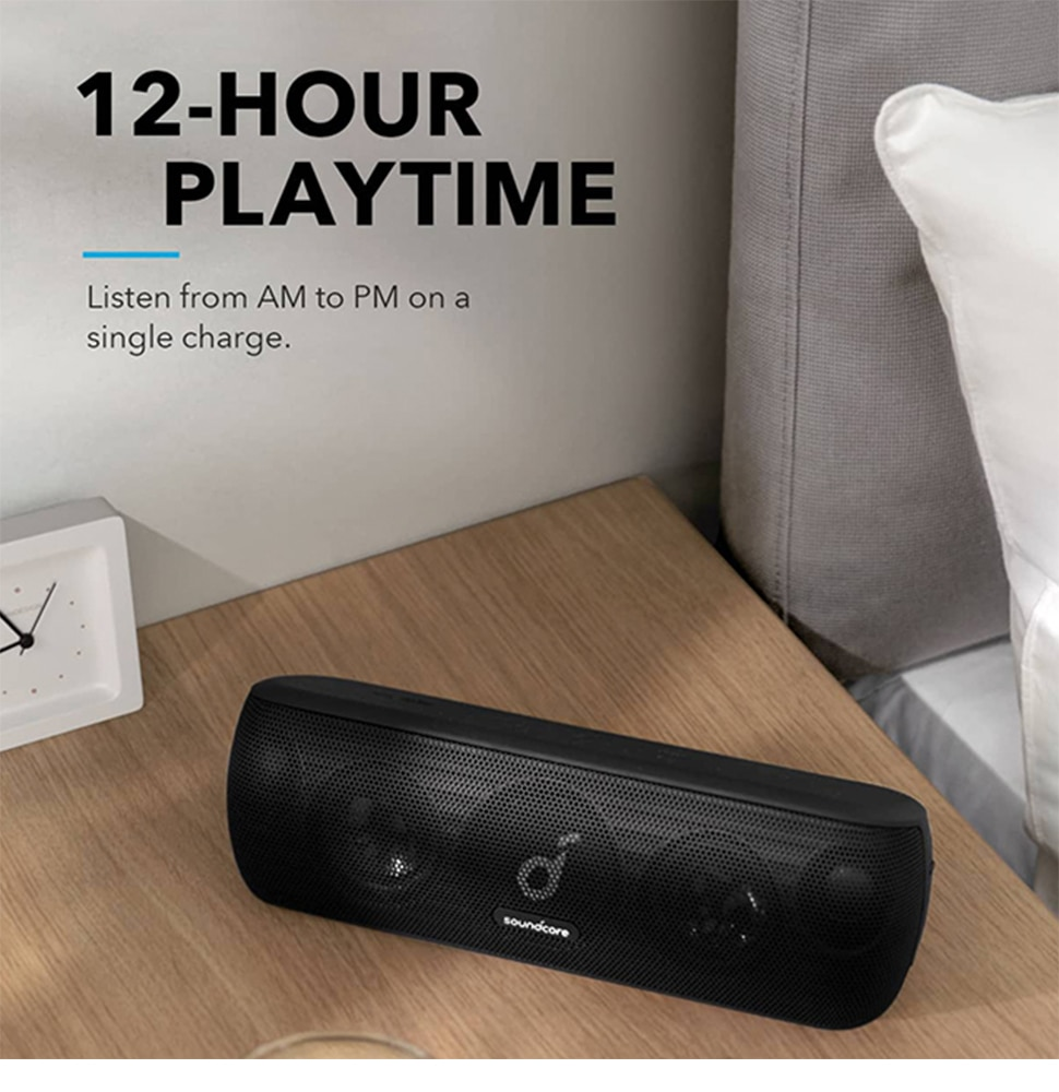Habd62caf7c38469393ee5ec9de0b8c16V - Anker Soundcore Motion Bluetooth Speaker with Hi-Res 30W Audio, Extended Bass and Treble, Wireless HiFi Portable Speaker