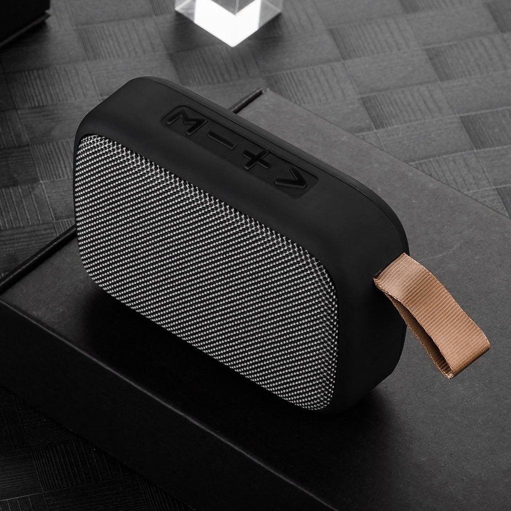 Hac826e49bc904716b2348064591bb9abs - Wireless Mini Speaker Portable Wireless Bluetooth Stereo Tf Card Fm Speaker For Smartphone Tablet Mp3 Player Subwoofer In Stock