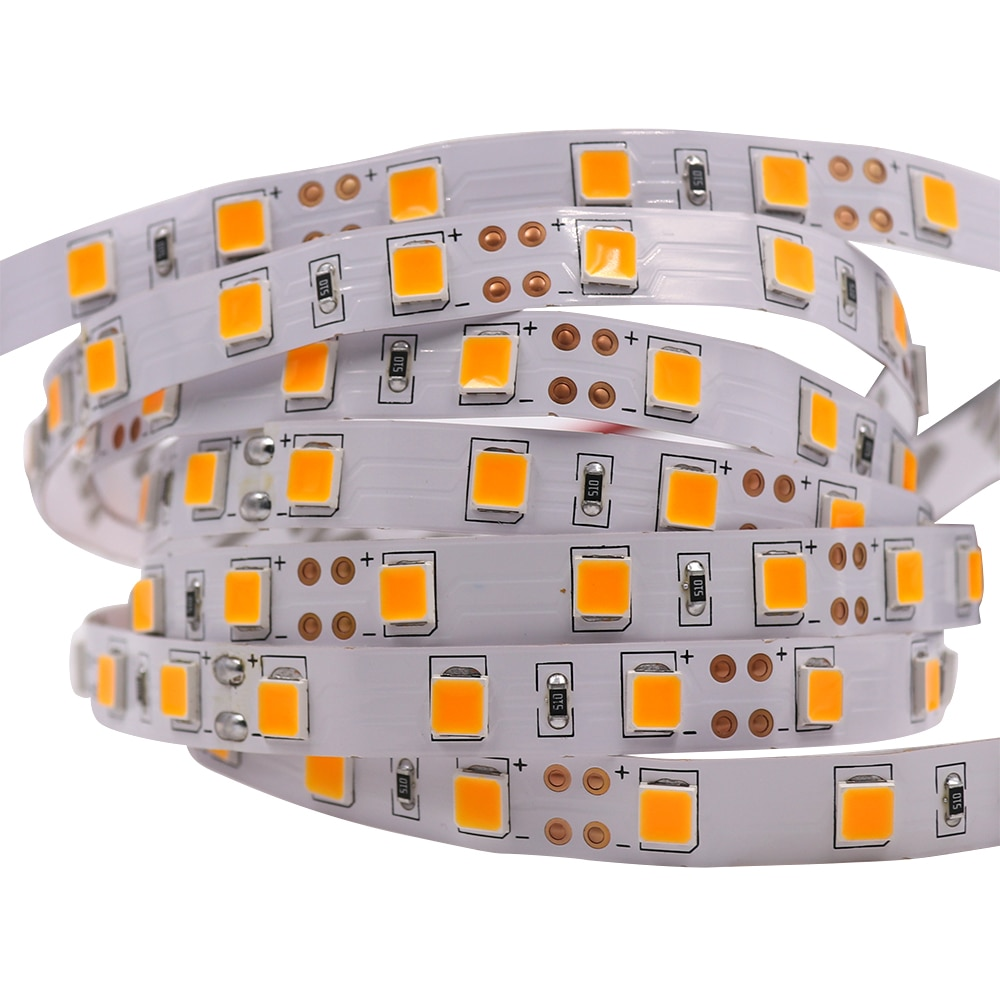 Hb5156f704959449fbef5f9d83420b9d1T - 5M LED Strip Light 5054 5050 SMD 120led 60LED 240LED 2835 5630 12V DC Waterproof Flexible LED Tape for Home Decoration 10 Colors