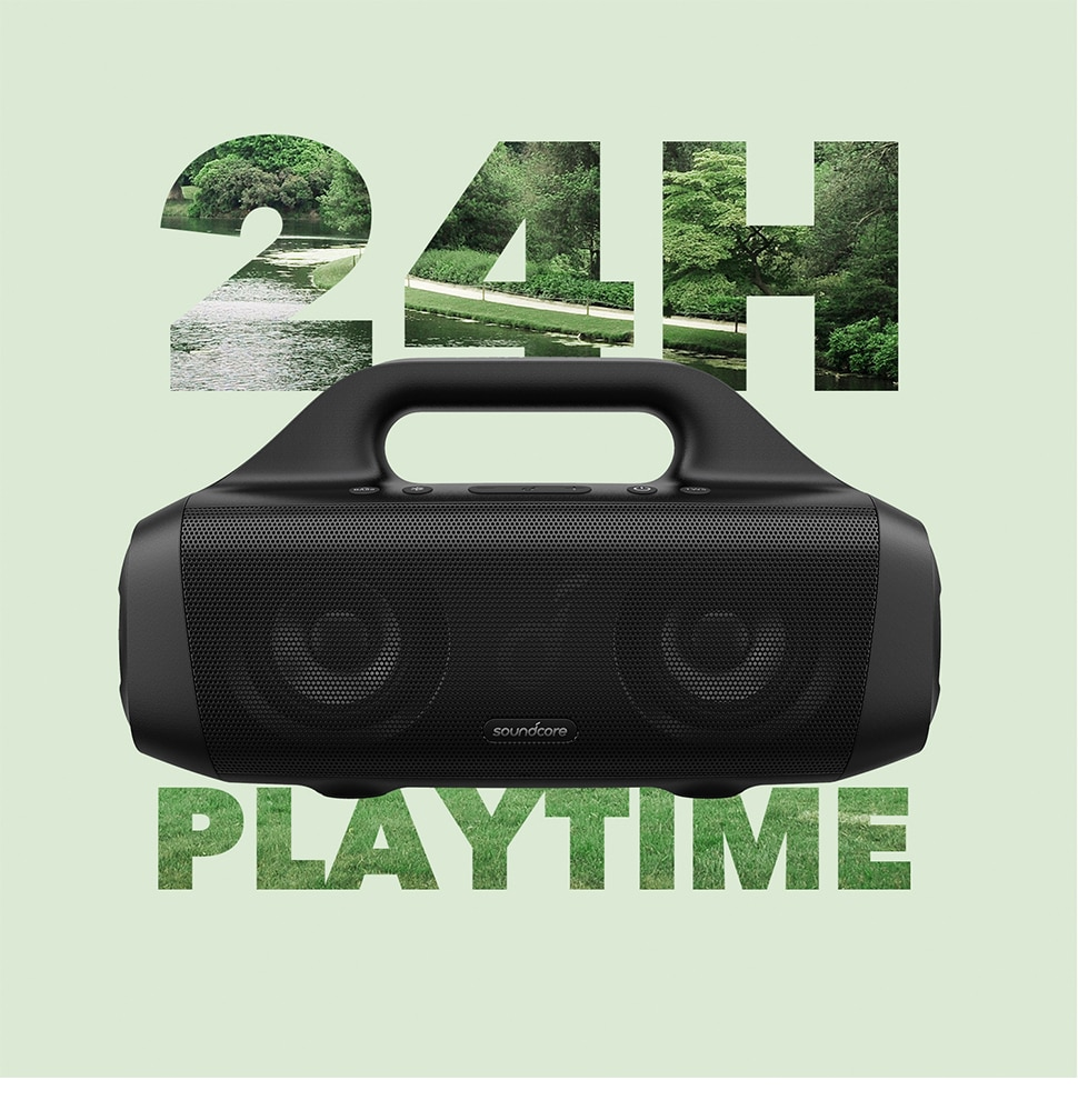Hb9f468b6468748d88d08bd0012f205cd7 - Anker Soundcore Motion Boom Outdoor Speaker with Titanium Drivers, BassUp Technology, IPX7 Waterproof, 24H Playtime
