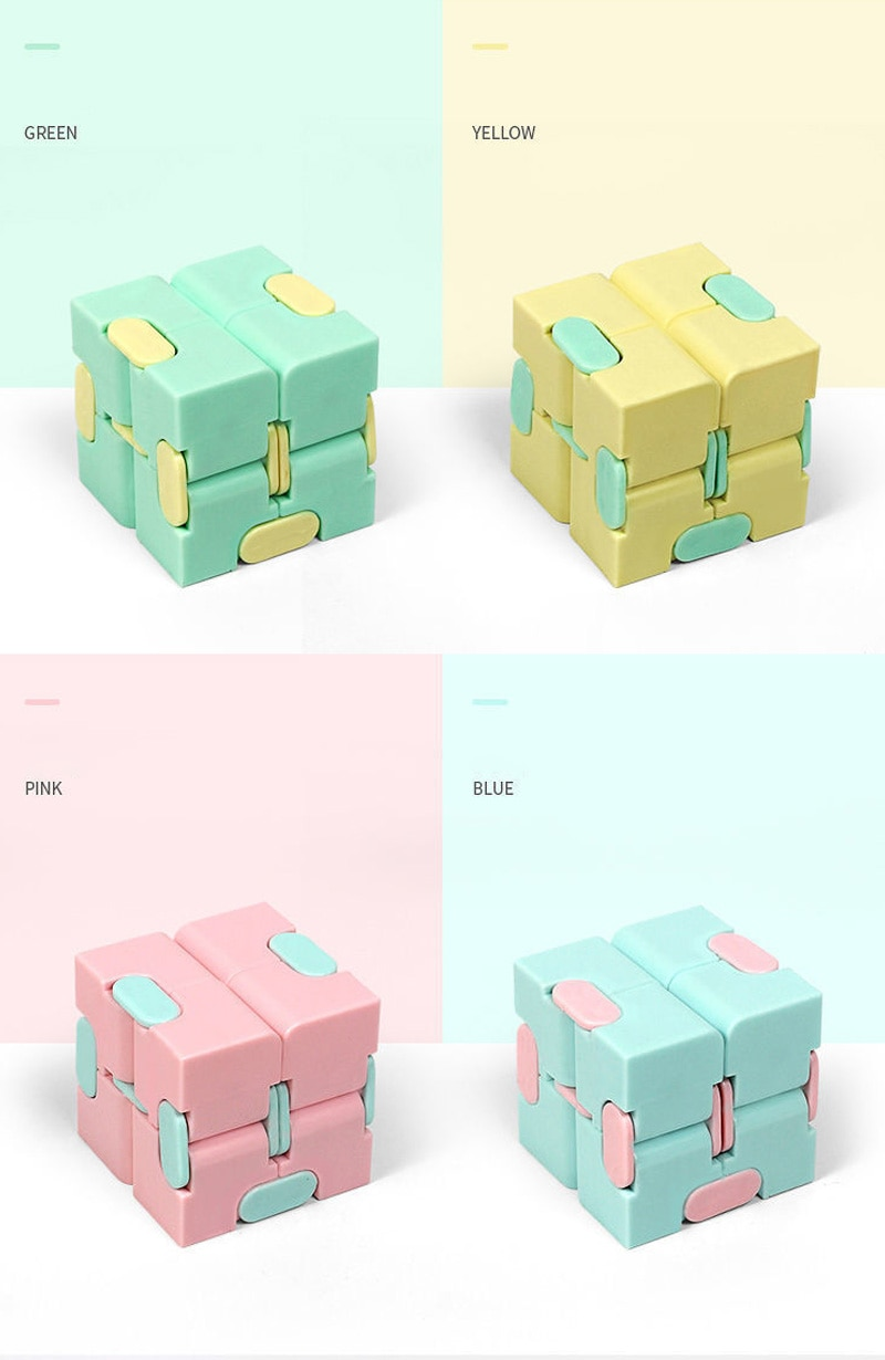 Hb9fc21f012c14971b0d3cb3afe07bf0a5 - Antistress Infinite Cube Infinity Cube Office Flip Cubic Puzzle Stress Reliever Autism Toys Relax Toy For Adults