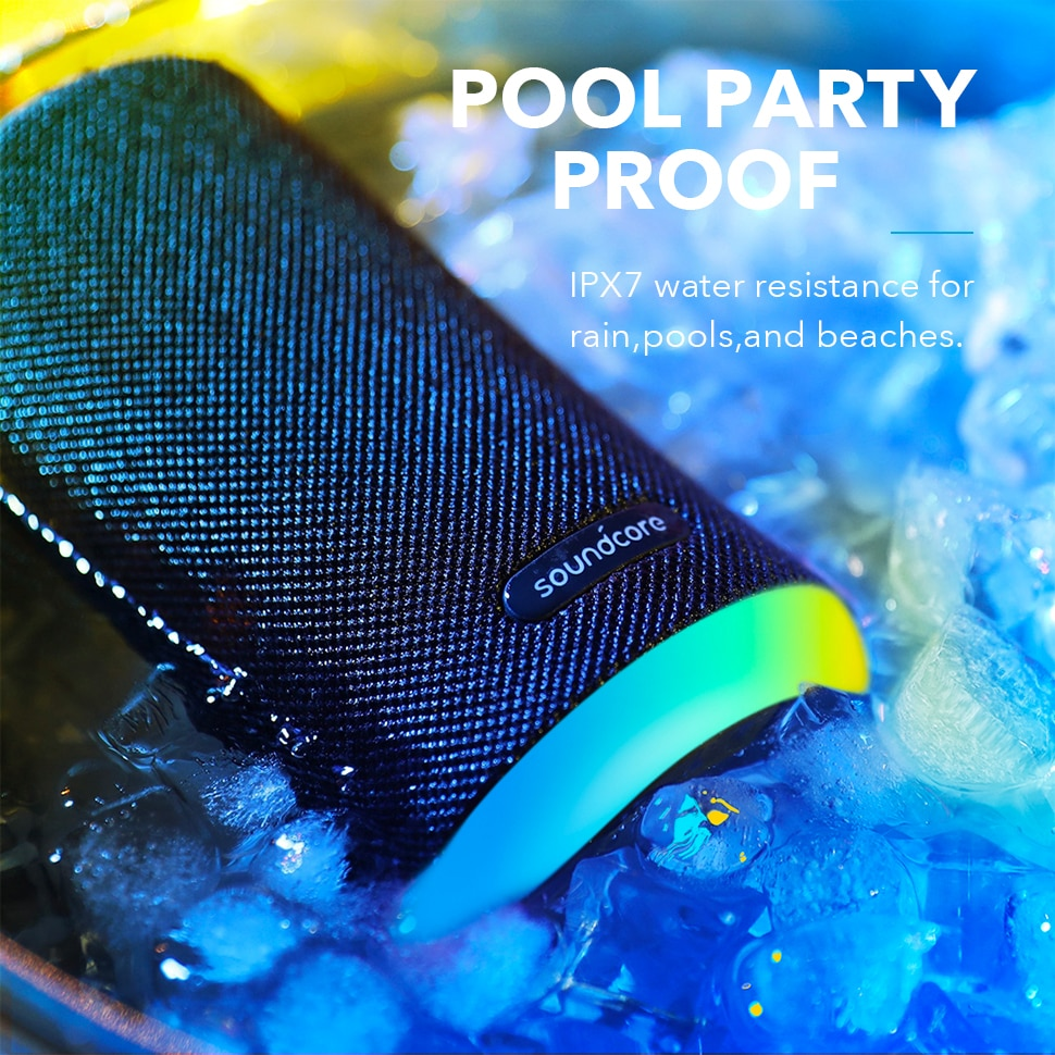 Hbb08d03af6084fc7bb8dc2ca22a6cb2bB - Anker Soundcore Flare Mini Bluetooth Speaker, Outdoor Bluetooth Speaker, IPX7 Waterproof for Outdoor Parties