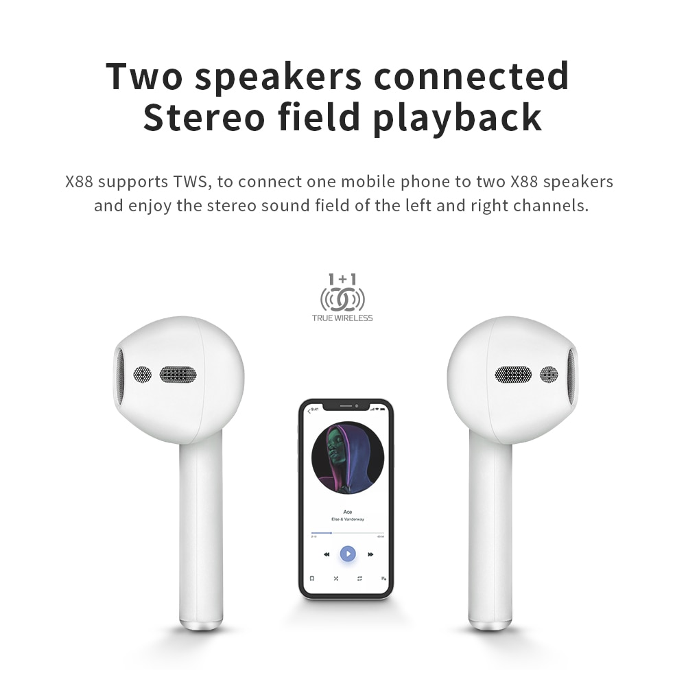 Hc506bd0f71f84fb6986d8fa2c22e2e49f - 2021 Wireless Portable BT Speaker Giant Headset Bluetooth 5.0 Mini Sound Bass Support FM Broadcast Personality Birthday Gift