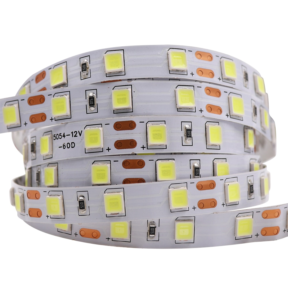 Hc5a01c2a677c4c9d95be9208725679255 - 5M LED Strip Light 5054 5050 SMD 120led 60LED 240LED 2835 5630 12V DC Waterproof Flexible LED Tape for Home Decoration 10 Colors