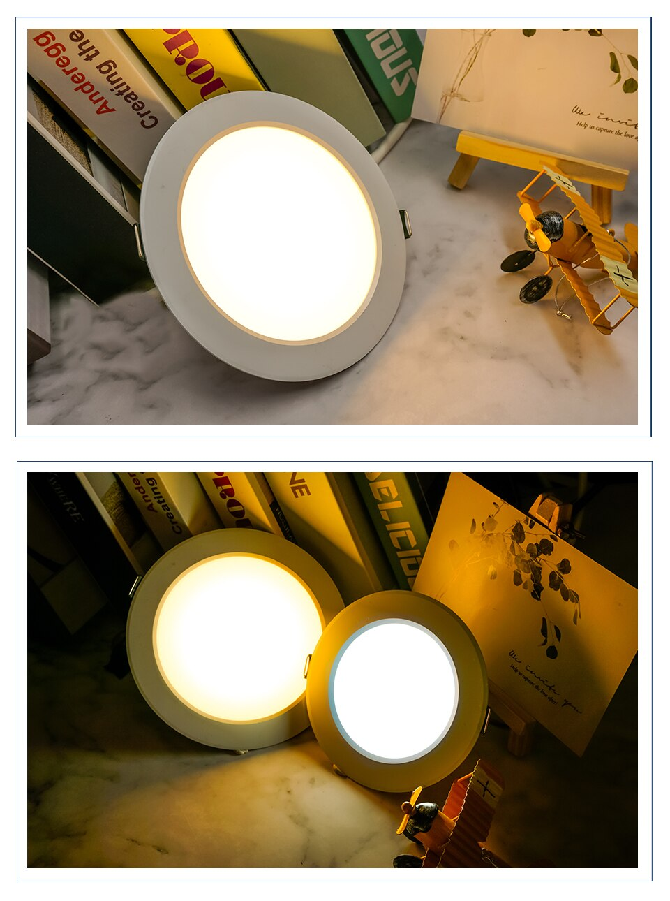 Hc8f33bc3c76b4e1b8193cfe962985cd1g - 10pcs/lot LED Downlight 3W 5W 7W 9W 12W 15W AC 220V Warm Cold White Recessed LED Lamp Spot Light Led Bulb For Bedroom Kitchen