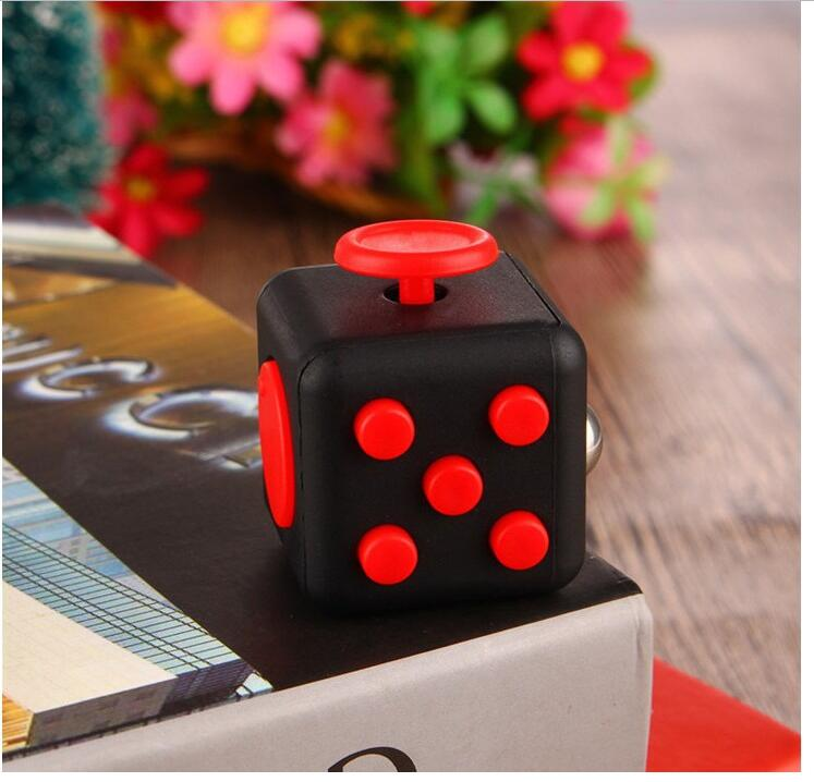 Hcf2b2378ad4c453795c23d50e6b107c88 - Squeeze Stress Reliever Gifts Cube Relieves Anxiety and Stress Juguet For Adults Children cube Desk Spin Fidget Toys