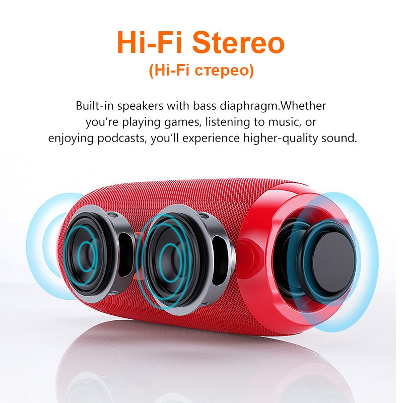 Hd28cc90267654ef6b9d941fc0141f4a9o - Portable Bluetooth Speaker Wireless Bass Subwoofer Waterproof Outdoor Speakers Boombox AUX TF USB Stereo Loudspeaker Music Box