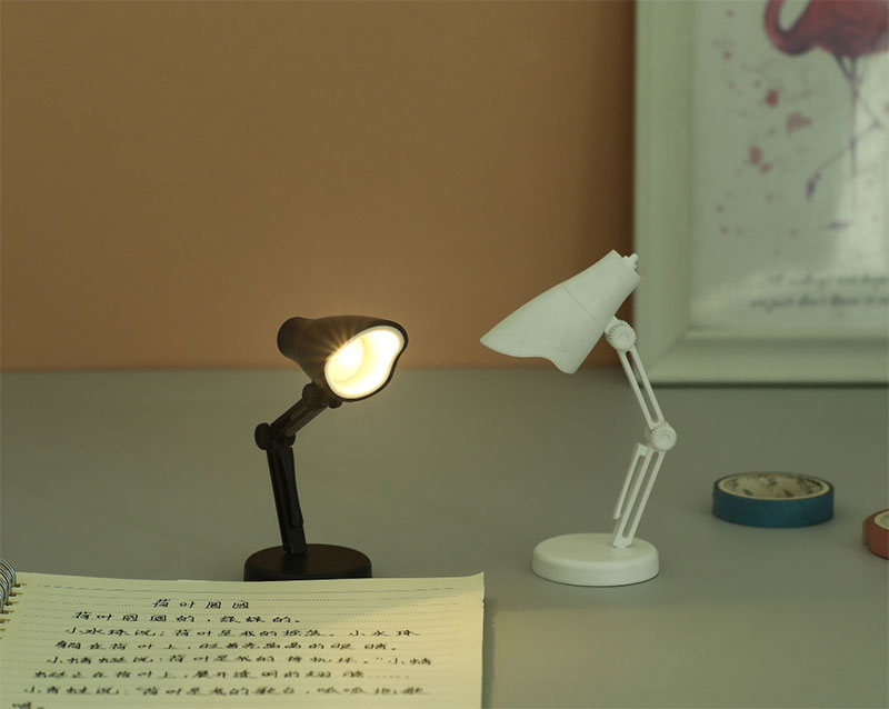 Hd44f7fba6b2d45c38e49d2e854e0c6bao - Creative Mini Miniature Furniture Table Lamp LED Folding Portable Small Night Light For Children Dollhouse Accessories Lamp Toys