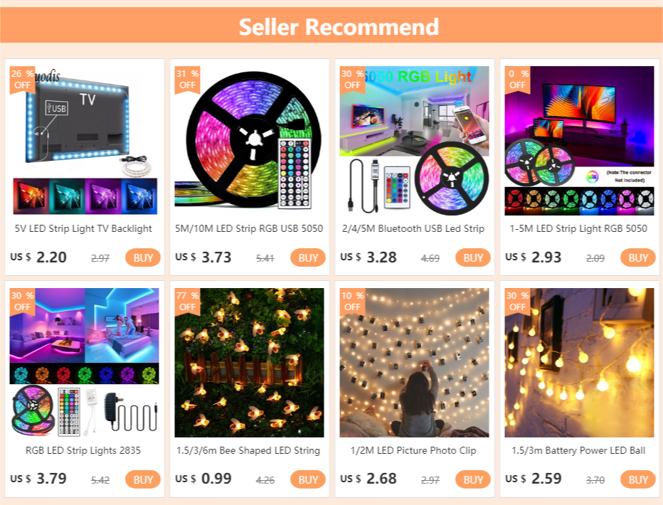 Hd629561ee64840a89b37b0517d18601bG - 5M/10M LED Strip RGB USB 5050 SMD LED Lights 0.5/1/2/3M Light Strip With Remote Control Desktop Holiday Wall Room TV BackLight