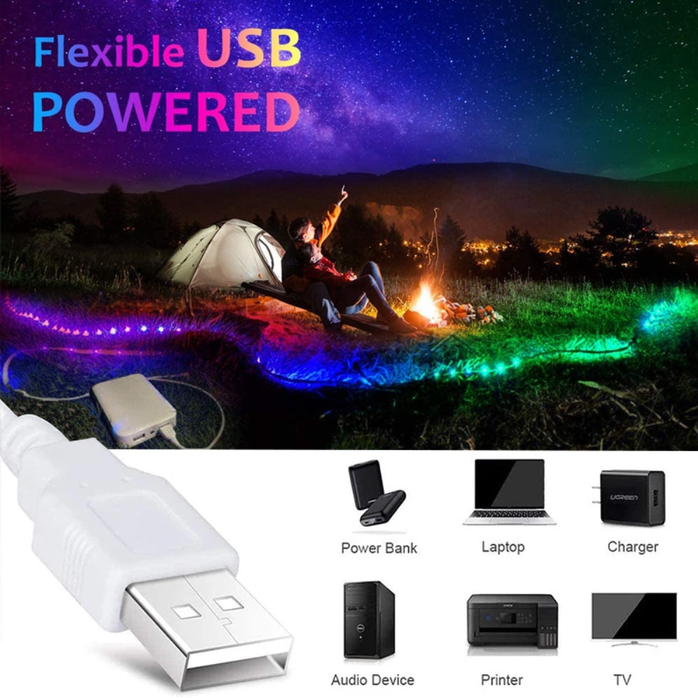 Hd8c310c544bc493593a2fded7eb2cae18 - LED Light Strip luces USB Infrared Remote Control 5V RGB 2835 Flexible Lamp Tape Ribbon Diode For Festival Party TV Desk Bedroom