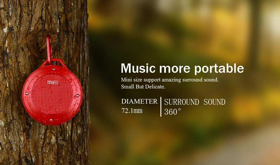 Hdc5db704671f43fba346bf2c526d9734i - MIFA F10 Outdoor Wireless Bluetooth Stereo Portable Speaker Built-in mic Shock Resistance IPX6 Waterproof Speaker with Bass