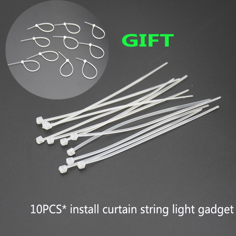 Hdc72678f55b1410493f0bfd980ea921dy - 5M Christmas Garland LED Curtain Icicle String Lights Droop 0.4-0.6m AC 220V Garden Street Outdoor Decorative Holiday Light