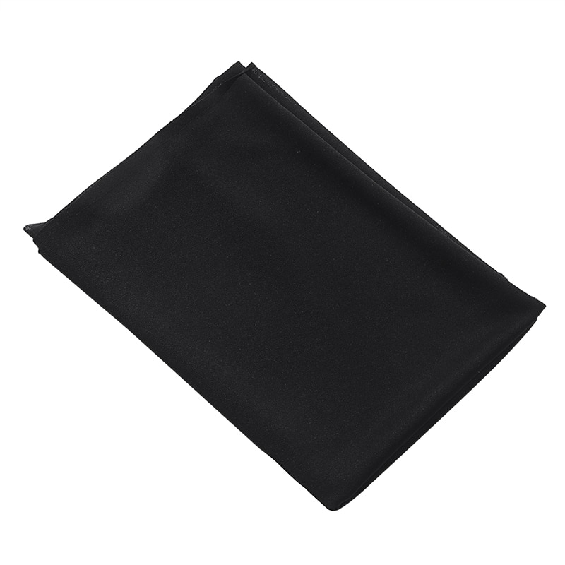 Hdf68ee9d360748718490749923b04237R - Black Speaker Grill Protective Cloth Stereo Gille Fabric Speaker Mesh Cloth Dustproof Size 1.6x0.5m