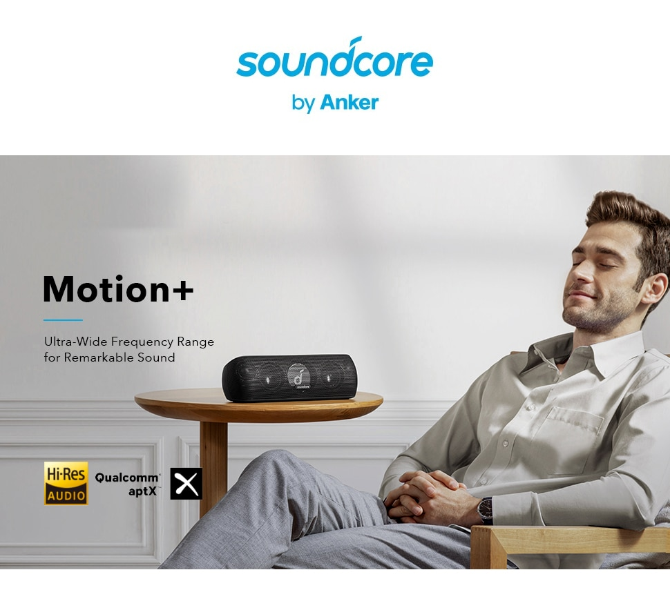 Hdfd009ce119045a7915e591271b3df70o - Anker Soundcore Motion Bluetooth Speaker with Hi-Res 30W Audio, Extended Bass and Treble, Wireless HiFi Portable Speaker