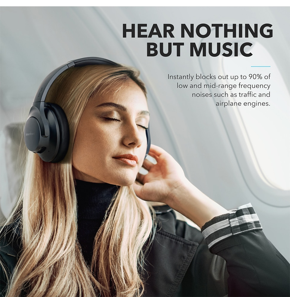He2aa3a066220449582a2359d4c37fa61s - Anker Soundcore Life Q20 Hybrid Active Noise Cancelling Headphones, Wireless Over Ear Bluetooth Headphones