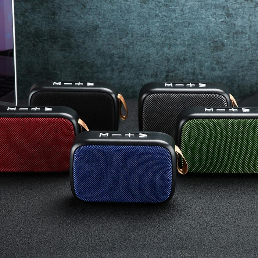 He34df9d1f34f4831bf2d1358037b960fz - G2 New Wireless Fabric Bluetooth Speaker Small Portable Cannon Mini Voice Broadcast The Card Instert Vehicular Audio System