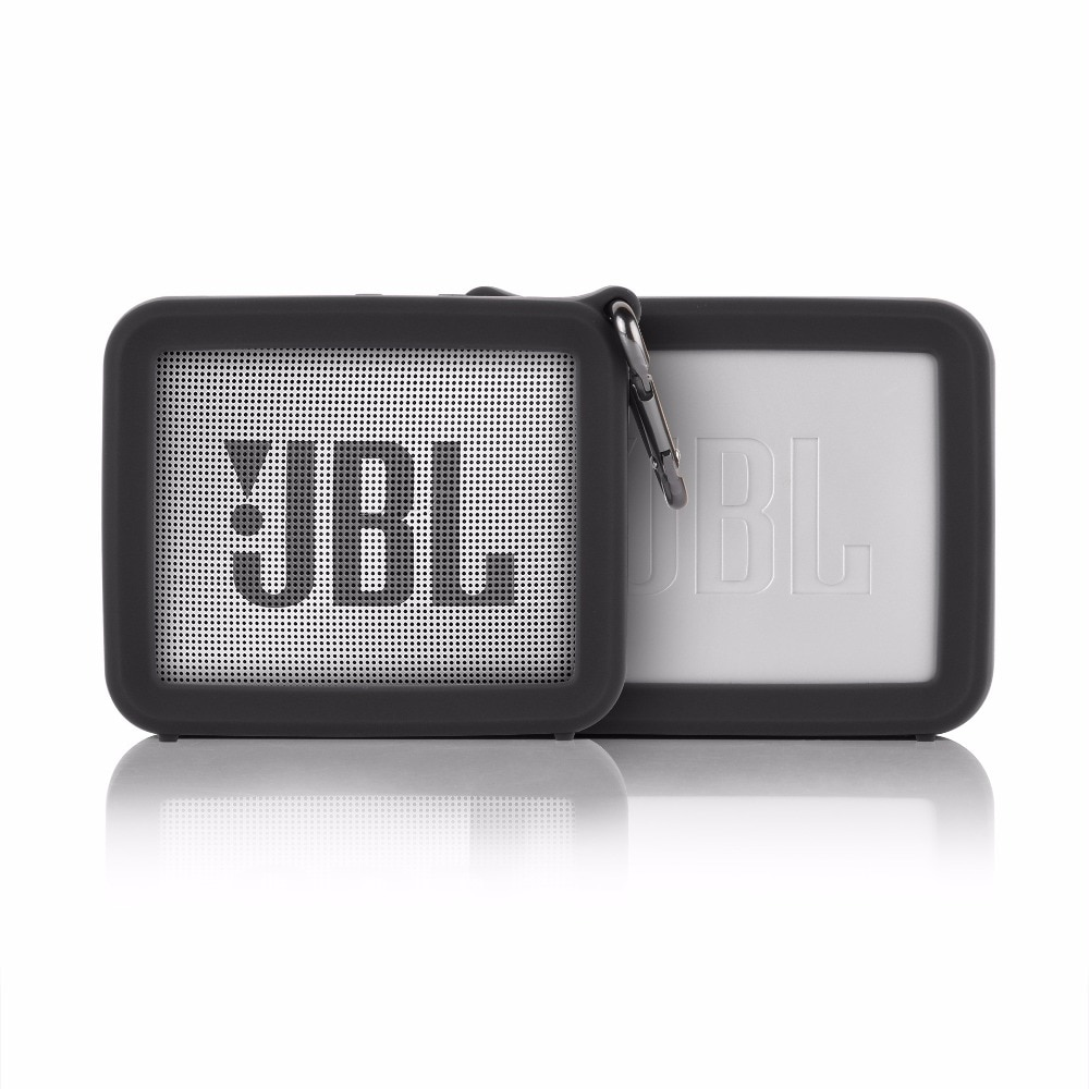 He38a6cd376684269a9f9448c03affb577 - New Portable Silicone Case Protective Travel Case Soft Silica Gel Storage Pouch Audio Case for JBLGO2 GO2 Bluetooth Speakers