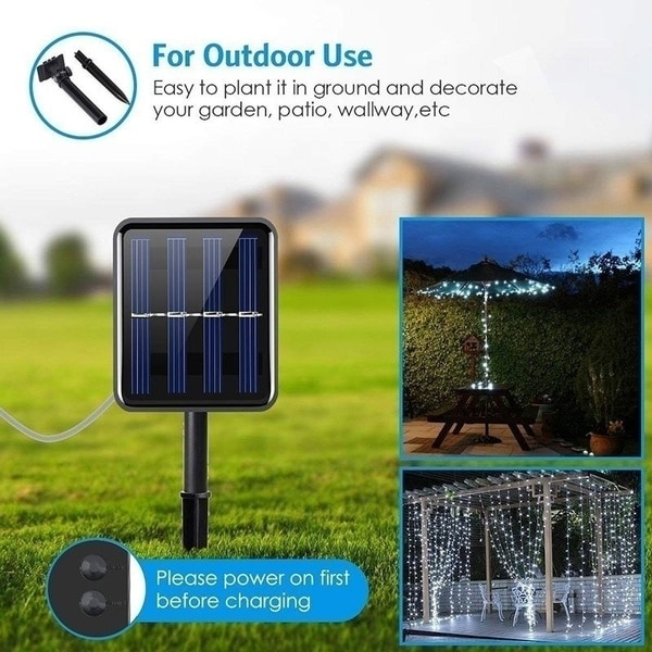 He69f6aab3d774007b8b2361688ca9642N - Led Outdoor Solar String Lights Fairy Holiday Christmas For Christmas, Lawn, Garden, Wedding, Party and Holiday(1/2Pack)