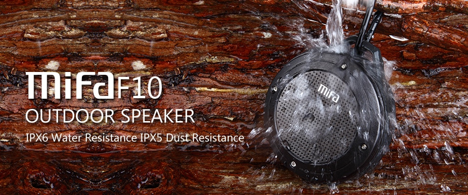 He7f30d996e31495084b0dfdeb87c1231A - MIFA F10 Outdoor Wireless Bluetooth Stereo Portable Speaker Built-in mic Shock Resistance IPX6 Waterproof Speaker with Bass
