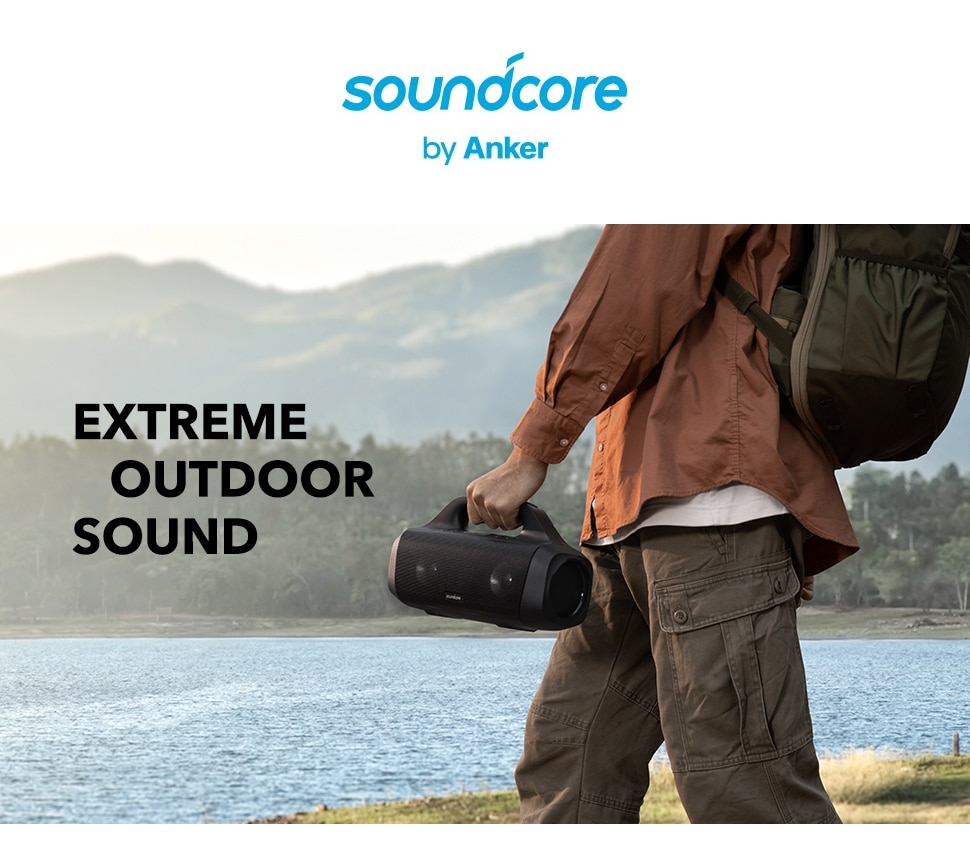 He8771da2c1d9480cac6af8662234eb98d - Anker Soundcore Motion Boom Outdoor Speaker with Titanium Drivers, BassUp Technology, IPX7 Waterproof, 24H Playtime