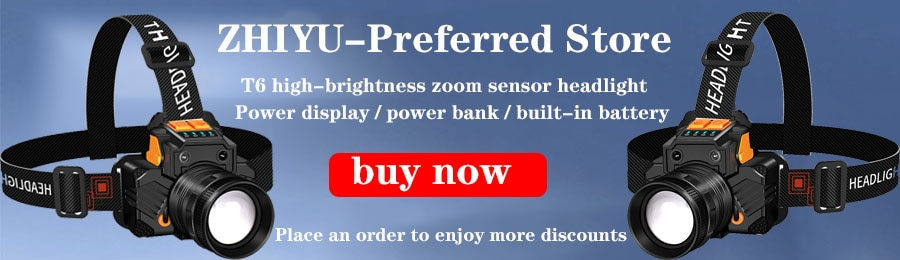 Hea1af8b940804094ba00d2503d0e9f235 - ZHIYU LED COB Rechargeable Magnetic Work Light Portable Flashlight Waterproof Camping Lantern Magnet Design with Power Display