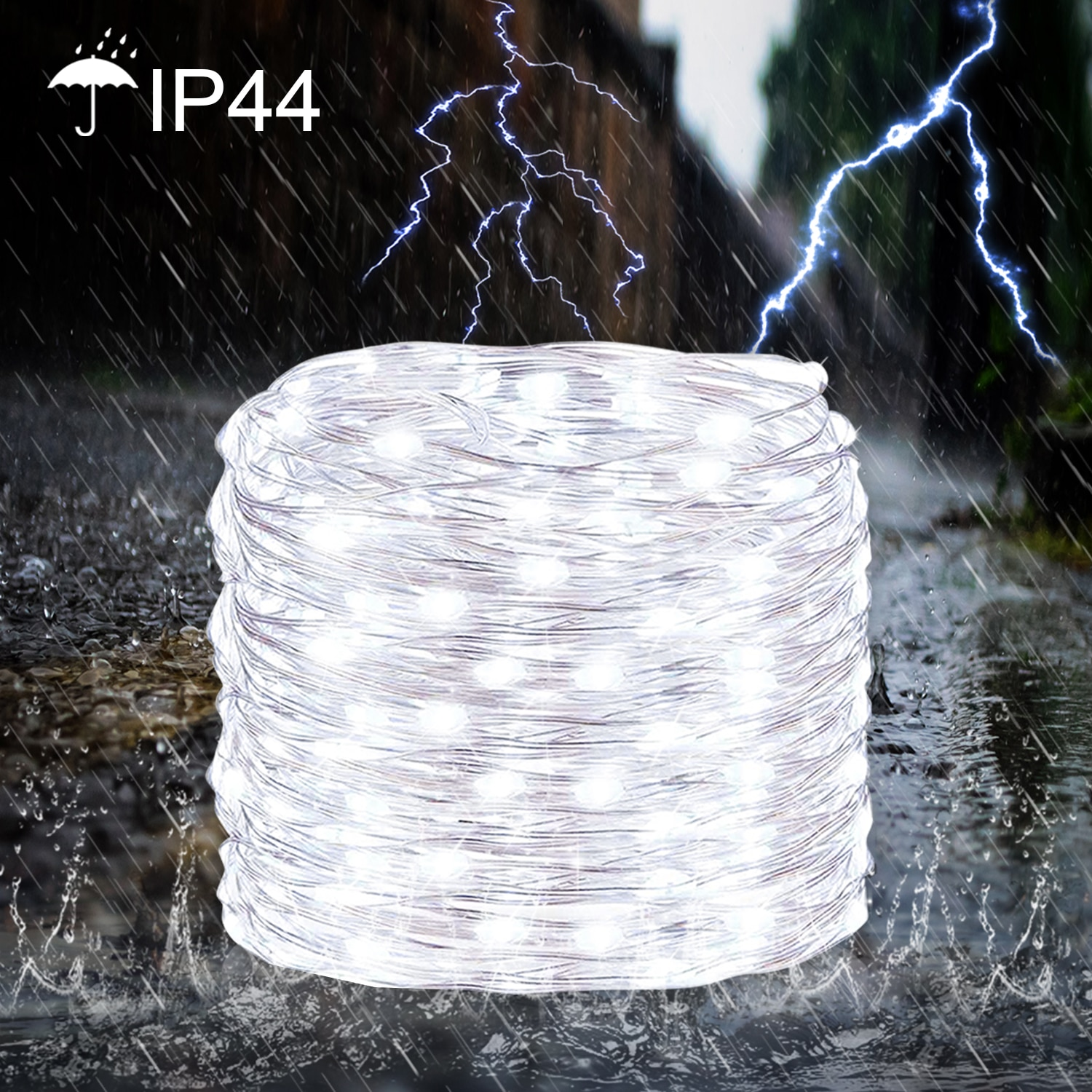 Hf1929d18c2e24de6a71c404e336ab5df2 - 50/100/200/330 LED Solar Light Outdoor Lamp String Lights For Holiday Christmas Party Waterproof Fairy Lights Garden Garland