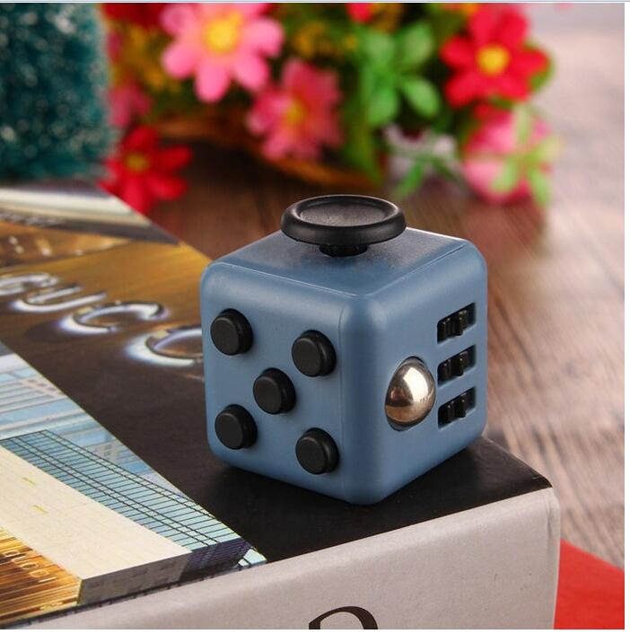Hf1c18870a55e4b4c941670b7f95ae9190 - Squeeze Stress Reliever Gifts Cube Relieves Anxiety and Stress Juguet For Adults Children cube Desk Spin Fidget Toys