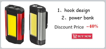 Hf2423808572f4935b8831d426d7c55a8n - ZHIYU LED COB Rechargeable Magnetic Work Light Portable Flashlight Waterproof Camping Lantern Magnet Design with Power Display