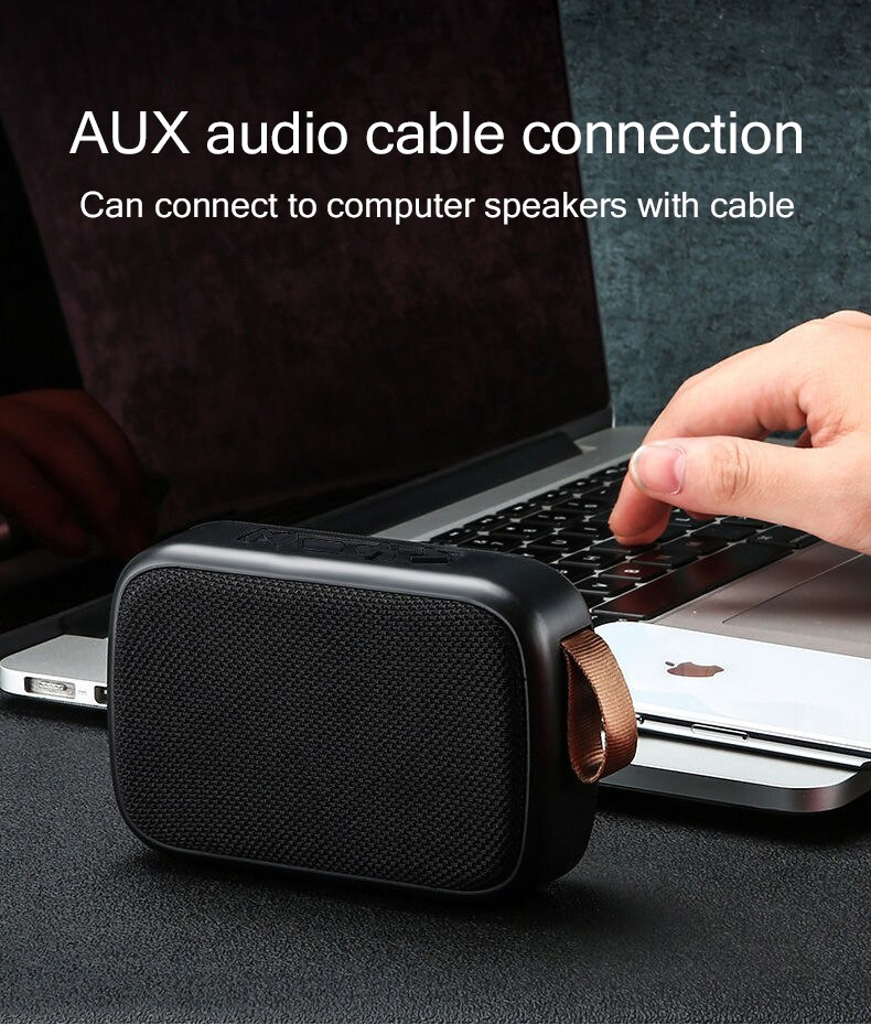 Hf4d95c66f1a645c4a48779dbcb8df769w - B02 Wireless Bluetooth Speaker Mini Subwoofer Support TF Card Small Radio Player Outdoor Portable Sports Audio Support 16GB