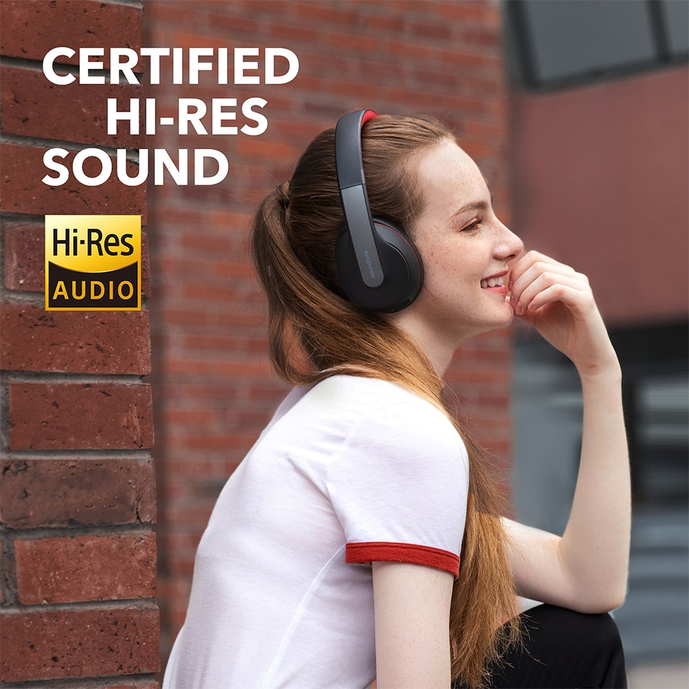 Hf5a0c56100fb43b5a6c0ea9fab7cd4eaV - Anker Soundcore Life Q10 Wireless Bluetooth Headphones, Over Ear and Foldable, Hi-Res Certified Sound, 60-Hour Playtime