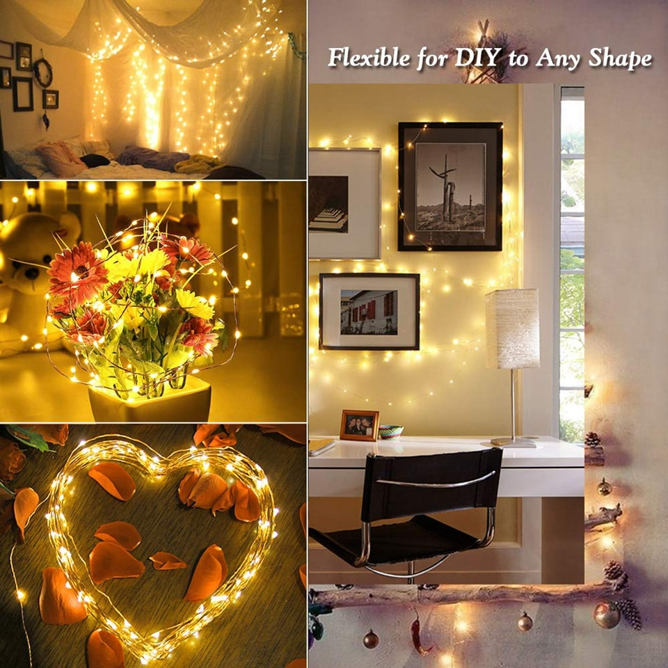 Hfc96c04acd714c20ade06a8f6e1fdb33D - 50/100/200/330 LED Solar Light Outdoor Lamp String Lights For Holiday Christmas Party Waterproof Fairy Lights Garden Garland