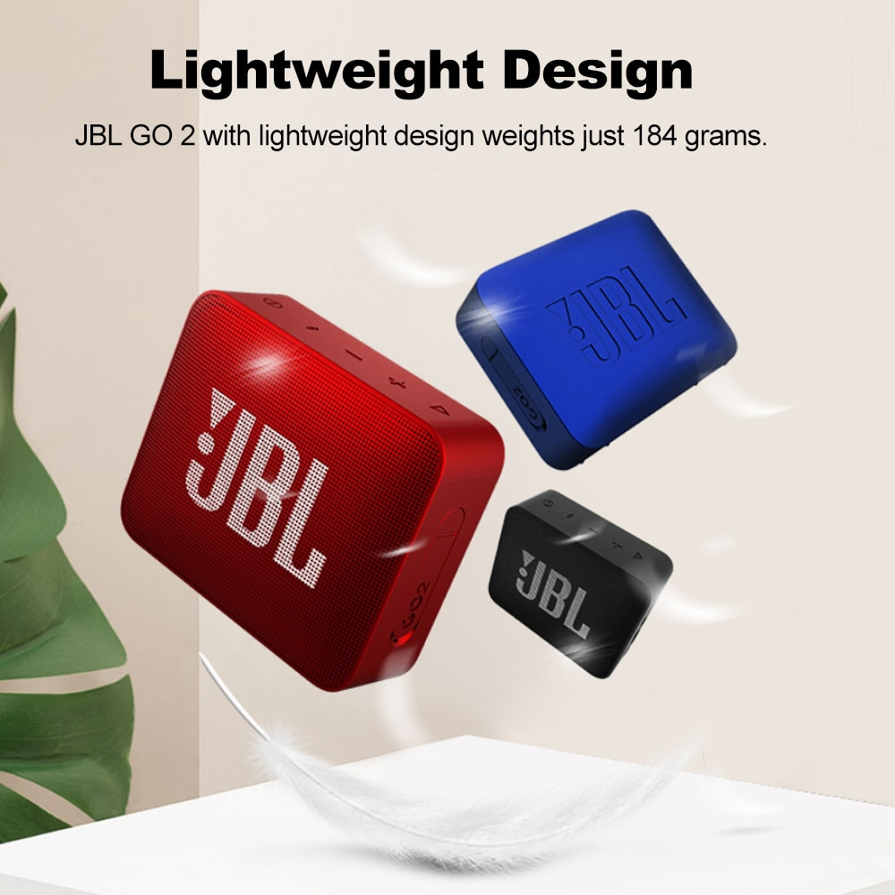 Hfca0e0d97f4e4f558b7245ebcc3c0ea0g - Original JBL GO 2 Wireless Bluetooth Speaker Mini IPX7 Waterproof Outdoor Sound Rechargeable Battery With Microphone